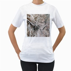 Earth Landscape Aerial View Nature Women s T Shirt (white) (two Sided)