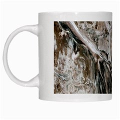 Earth Landscape Aerial View Nature White Mugs