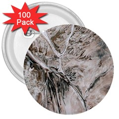 Earth Landscape Aerial View Nature 3  Buttons (100 Pack)