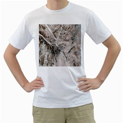 Earth Landscape Aerial View Nature Men s T Shirt (white) (two Sided)