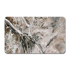 Earth Landscape Aerial View Nature Magnet (rectangular)