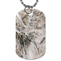Earth Landscape Aerial View Nature Dog Tag (one Side)
