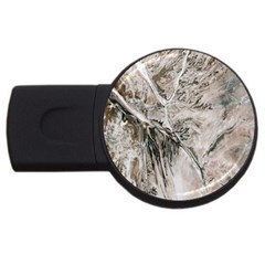 Earth Landscape Aerial View Nature USB Flash Drive Round (1 GB)