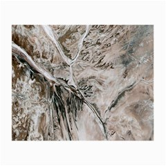 Earth Landscape Aerial View Nature Small Glasses Cloth