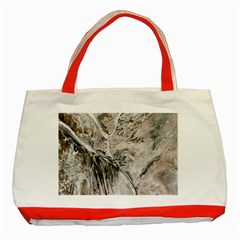 Earth Landscape Aerial View Nature Classic Tote Bag (Red)