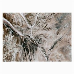 Earth Landscape Aerial View Nature Large Glasses Cloth
