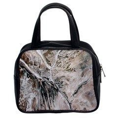 Earth Landscape Aerial View Nature Classic Handbags (2 Sides)