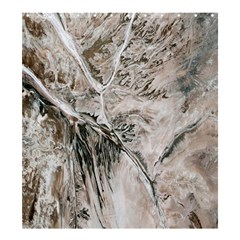 Earth Landscape Aerial View Nature Shower Curtain 66  x 72  (Large)