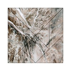 Earth Landscape Aerial View Nature Acrylic Tangram Puzzle (6  x 6 )