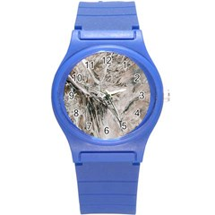 Earth Landscape Aerial View Nature Round Plastic Sport Watch (s)