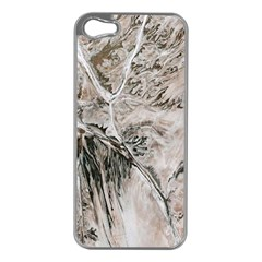 Earth Landscape Aerial View Nature Apple iPhone 5 Case (Silver)