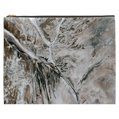 Earth Landscape Aerial View Nature Cosmetic Bag (XXXL)