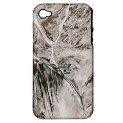 Earth Landscape Aerial View Nature Apple iPhone 4/4S Hardshell Case (PC+Silicone)