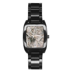 Earth Landscape Aerial View Nature Stainless Steel Barrel Watch