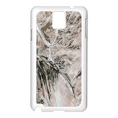 Earth Landscape Aerial View Nature Samsung Galaxy Note 3 N9005 Case (White)