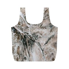 Earth Landscape Aerial View Nature Full Print Recycle Bags (M)