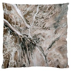 Earth Landscape Aerial View Nature Standard Flano Cushion Case (One Side)