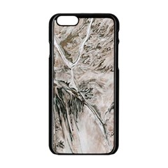 Earth Landscape Aerial View Nature Apple Iphone 6/6s Black Enamel Case