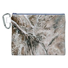 Earth Landscape Aerial View Nature Canvas Cosmetic Bag (XXL)
