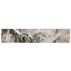 Earth Landscape Aerial View Nature Flano Scarf (small)