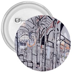 Cityscapes England London Europe United Kingdom Artwork Drawings Traditional Art 3  Buttons
