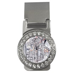 Cityscapes England London Europe United Kingdom Artwork Drawings Traditional Art Money Clips (CZ)