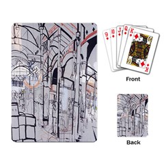 Cityscapes England London Europe United Kingdom Artwork Drawings Traditional Art Playing Card