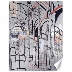 Cityscapes England London Europe United Kingdom Artwork Drawings Traditional Art Canvas 18  X 24