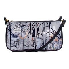 Cityscapes England London Europe United Kingdom Artwork Drawings Traditional Art Shoulder Clutch Bags