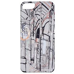 Cityscapes England London Europe United Kingdom Artwork Drawings Traditional Art Apple iPhone 5 Classic Hardshell Case