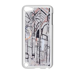 Cityscapes England London Europe United Kingdom Artwork Drawings Traditional Art Apple Ipod Touch 5 Case (white)