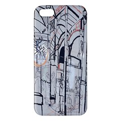 Cityscapes England London Europe United Kingdom Artwork Drawings Traditional Art Apple iPhone 5 Premium Hardshell Case