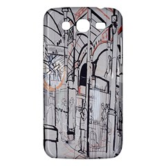 Cityscapes England London Europe United Kingdom Artwork Drawings Traditional Art Samsung Galaxy Mega 5.8 I9152 Hardshell Case