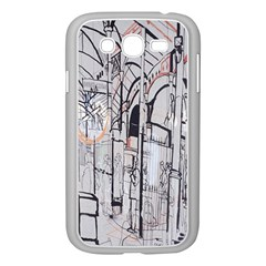 Cityscapes England London Europe United Kingdom Artwork Drawings Traditional Art Samsung Galaxy Grand Duos I9082 Case (white)