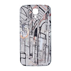 Cityscapes England London Europe United Kingdom Artwork Drawings Traditional Art Samsung Galaxy S4 I9500/I9505  Hardshell Back Case