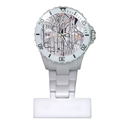Cityscapes England London Europe United Kingdom Artwork Drawings Traditional Art Plastic Nurses Watch