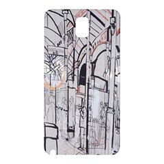 Cityscapes England London Europe United Kingdom Artwork Drawings Traditional Art Samsung Galaxy Note 3 N9005 Hardshell Back Case