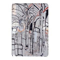 Cityscapes England London Europe United Kingdom Artwork Drawings Traditional Art Samsung Galaxy Tab Pro 12.2 Hardshell Case