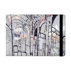 Cityscapes England London Europe United Kingdom Artwork Drawings Traditional Art iPad Mini 2 Flip Cases