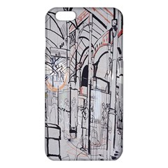 Cityscapes England London Europe United Kingdom Artwork Drawings Traditional Art iPhone 6 Plus/6S Plus TPU Case