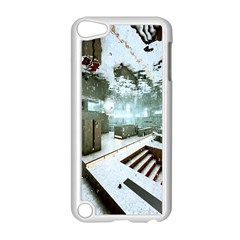 Digital Art Paint In Water Apple iPod Touch 5 Case (White)