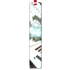 Digital Art Paint In Water Large Book Marks