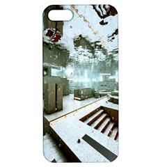 Digital Art Paint In Water Apple Iphone 5 Hardshell Case With Stand