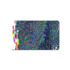 Glitch Art Magnet (name Card)