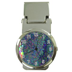 Glitch Art Money Clip Watches