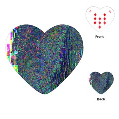Glitch Art Playing Cards (heart)