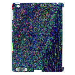Glitch Art Apple iPad 3/4 Hardshell Case (Compatible with Smart Cover)