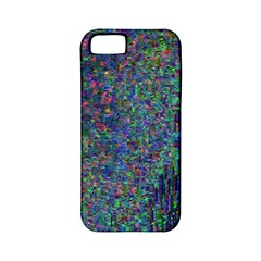 Glitch Art Apple iPhone 5 Classic Hardshell Case (PC+Silicone)