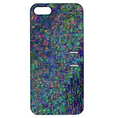 Glitch Art Apple iPhone 5 Hardshell Case with Stand