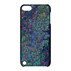 Glitch Art Apple iPod Touch 5 Hardshell Case with Stand